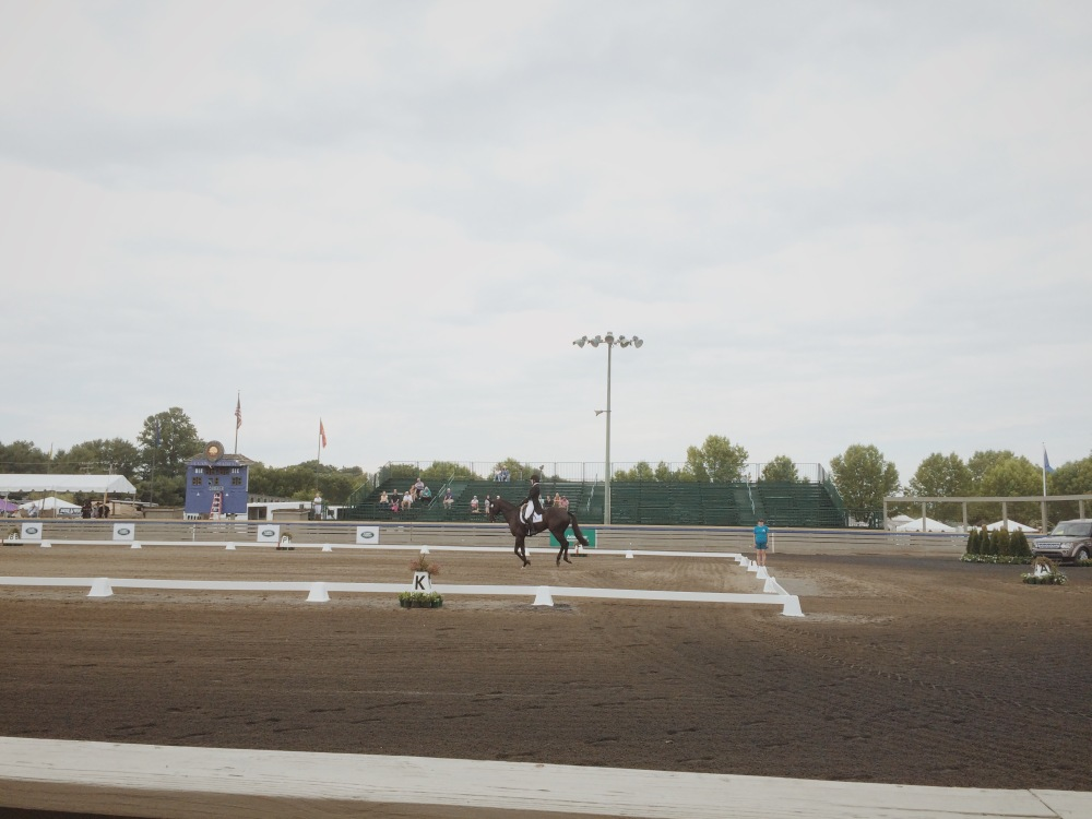 This is not Jennie Brannigan. This is yet another female Dressage rider showing us how much riding