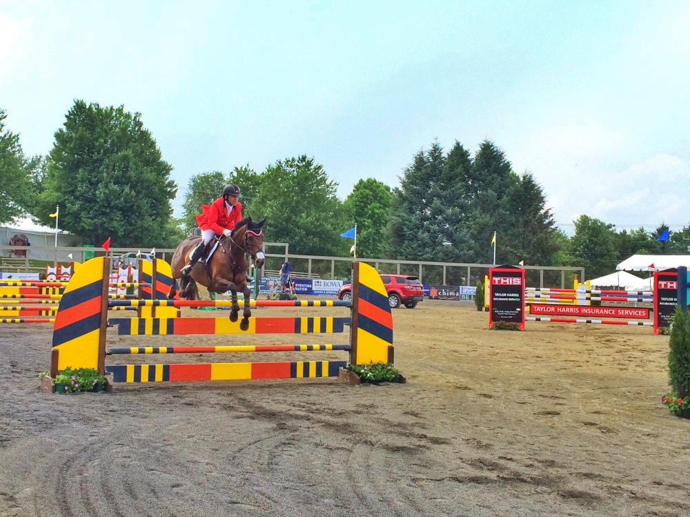 These jumps were nearly as tall as me.