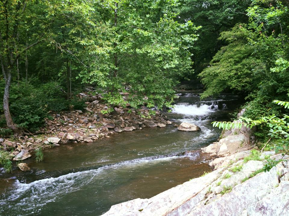 Bull Run creek